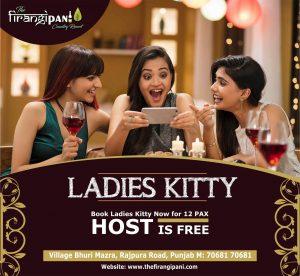 Kitty Party At Firangipani