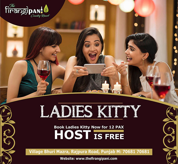 Kitty Party At Firangipani